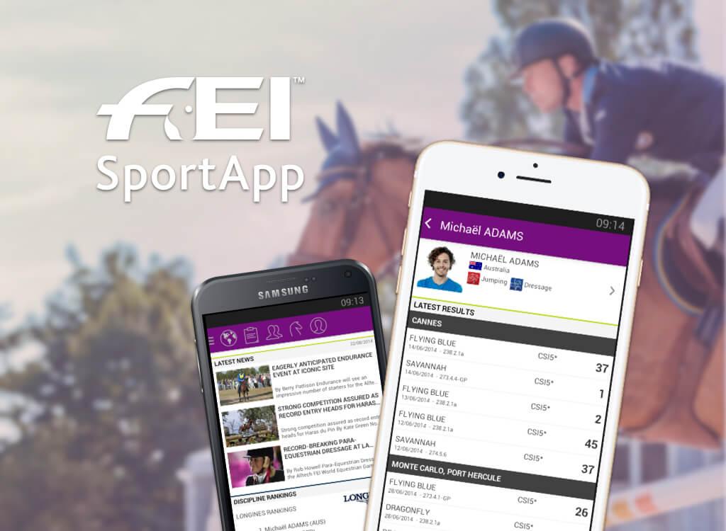FEI Sport App