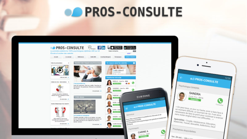 Mettez en Relation en Temps Réel des Salariés et des Psychologues sur une Plateforme Web