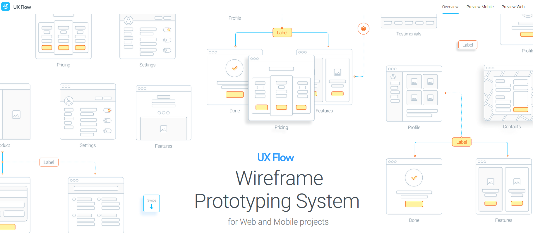 ux-flow-maquette-wireframe-application-mobile