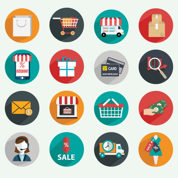 flat-design-icones-ecommerce-application-mobile