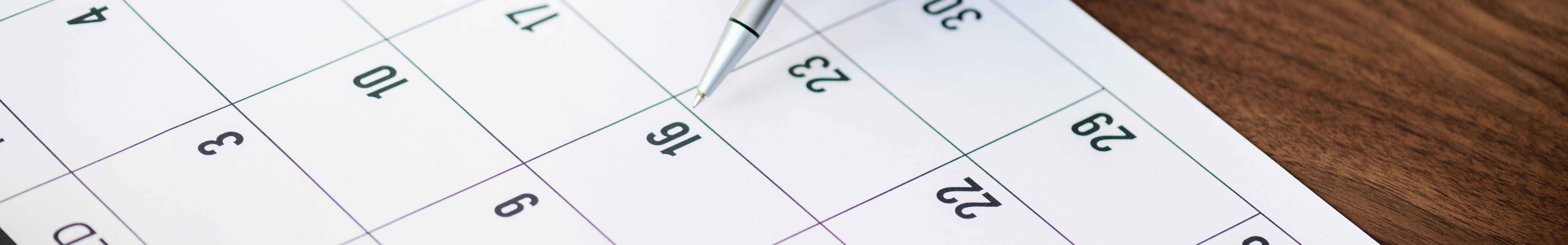 gestion calendrier