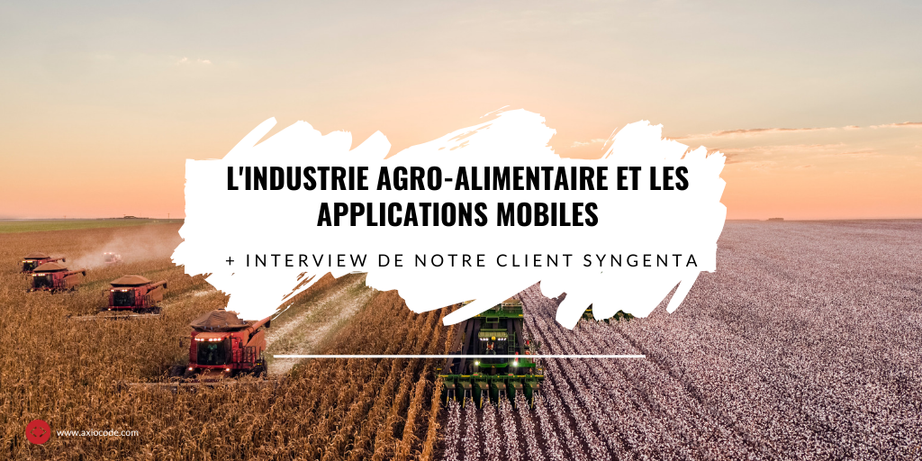 Applications mobiles et industrie agroalimntaire