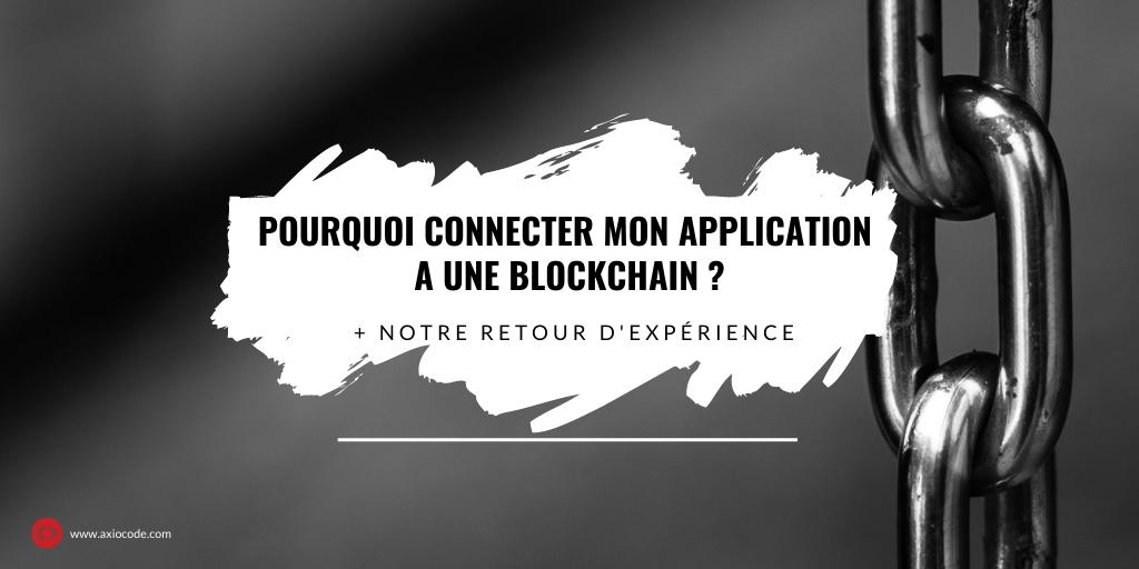 Application blockchain Axiocode