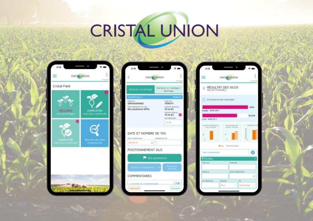 Organisez la récolte avec une application mobile